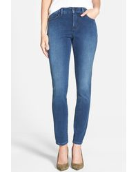 NYDJ | Blue Alina Colored Stretch Skinny Jean | Lyst