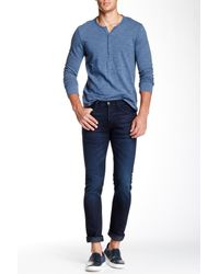 3x1 Blue 'm3' Slim Fit Selvedge Jean (lunar) for men