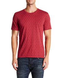 True Religion | Red Monogram Crew Neck Graphic Tee for Men | Lyst