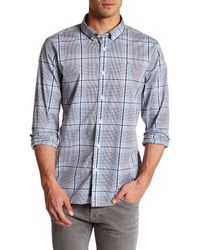 Victorinox | Blue Long Sleeve Plaid Tailored Fit Shirt for Men | Lyst