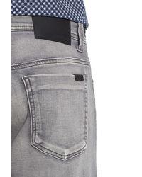 Fidelity Gray 'jimmy' Slim Straight Leg Jeans (oxy Mystic) for men