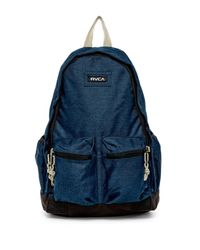 RVCA | Blue Crescent Backpack | Lyst