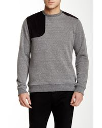 Civil Society - Gray Richmond Corduroy Contrast Pullover for Men - Lyst