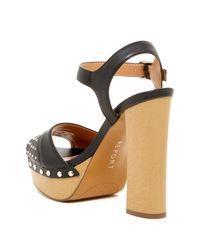 Report - Black Meeshka Ankle Strap Platform - Lyst