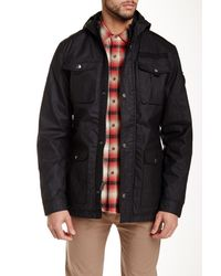 Indigo Star | Black Hank Hooded Utility Jacket for Men | Lyst