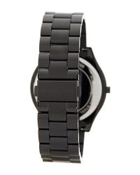 MICHAEL Michael Kors - Black Women's Slim Runway Bracelet Watch - Lyst