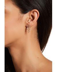 Nadri - Metallic Lumiere Cz Chandelier Crawler Earrings - Lyst