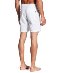 Onia | White Alek Board Short for Men | Lyst