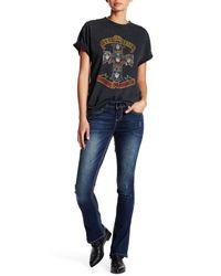 7 For All Mankind | Blue Big Stitch Rocker Slim Fit Jean | Lyst