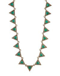 House of Harlow 1960 - Multicolor Native Legend Collar Necklace - Lyst