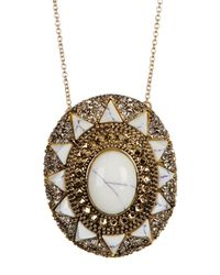 House of Harlow 1960 - White Wari Ruins Pendant Necklace - Lyst