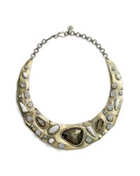 Kendra Scott - Metallic 'mira' Jewel Collar Necklace - Lyst