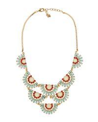 Carolee - Multicolor Nassau Night Baquette Bib Necklace - Lyst
