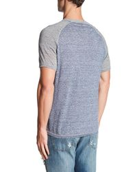 Autumn Cashmere | Blue Baseball Raglan Tee for Men | Lyst