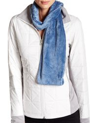 The North Face | Blue Denali Thermal Scarf | Lyst