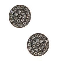 Nadri | Multicolor Cz Accented Coin Earrings | Lyst