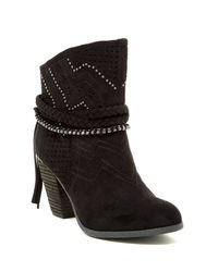 Not Rated | Black Adylene Bootie | Lyst