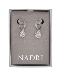 Nadri - Multicolor Vintage Crystal Bead Drop Earrings - Lyst