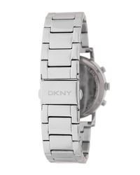 DKNY - Metallic Women's Mirror Dial Chronograph Bracelet Watch - Lyst