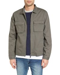 Native Youth - Green Lieutenant Shacket for Men - Lyst