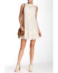 Free People | White Angel Lace Dress | Lyst