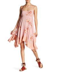 Free People | Pink Floral Print Dress | Lyst