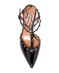 J. Reneé | Black Olyvia Too Studded Heel Pump | Lyst