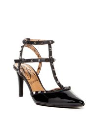 J. Reneé | Black Olyvia Too Studded Heel Sandal | Lyst