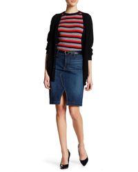 NYDJ | Blue Emma Skirt (petite) | Lyst