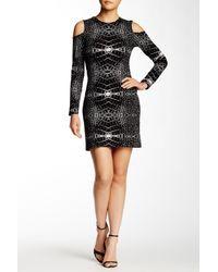 Parker - Black Duffy Dress - Lyst