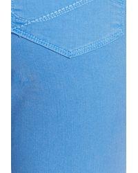 NYDJ Blue Alina Colored Stretch Ankle Skinny Jeans