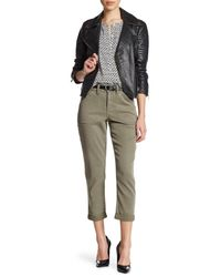 NYDJ | Green Reese Relaxed Chino (petite) | Lyst