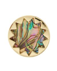 House of Harlow 1960 | Metallic Sunburst Genuine Leather Ring | Lyst