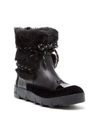 Joe's Jeans | Black Donovan Faux Fur Boot | Lyst