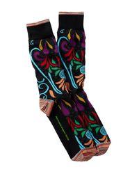 Robert Graham - Black Cormac Socks for Men - Lyst