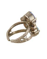 Sorrelli | Blue Assorted Swarovski Crystal Round Ring | Lyst