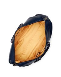 Robert Graham - Blue Sixtino Leather Trim Weekend Bag - Lyst