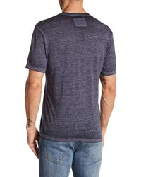 American Needle | Blue Heathered Burnout V-neck Tee for Men | Lyst