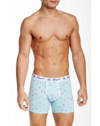 Original Penguin | Blue Single Boxer Brief for Men | Lyst
