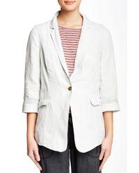 Marrakech - White Linen Blazer - Lyst