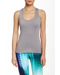 Threads For Thought - Gray Half Moon Tank - Lyst