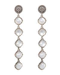 Konstantino - Metallic Aura 5-stone Mother-of-pearl Drop Earrings - Lyst
