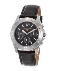 Swiss Legend - Black Women's Paradiso Diamond Quartz Watch - Lyst