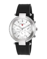 Swiss Legend - Black Women's Madison Diamond Casual Watch - Lyst