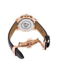 Swiss Legend - Gray Women's Islander Croc Embossed Leather Strap Sport Watch - Lyst