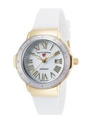 Swiss Legend - Multicolor Women's South Beach Mother Of Pearl Diamond Watch - 0.096 Ctw - Lyst
