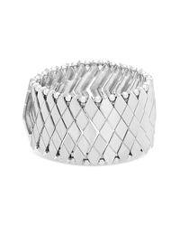 Steve Madden | Metallic Metal Snake Bracelet | Lyst