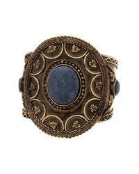 Steve Madden | Metallic Circle Statement Cuff Bracelet | Lyst