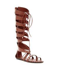 Ivy Kirzhner - Brown Sorcerer T-bar Sandals - Lyst