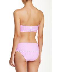 Jessica Simpson Pink Scalloped Underwire Bralette Top